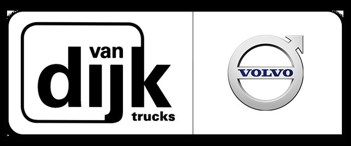 Van Dijk Trucks Logo Volvo