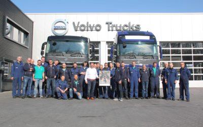 Van Dijk Culemborg beste Volvo Trucks werkplaats van Nederland