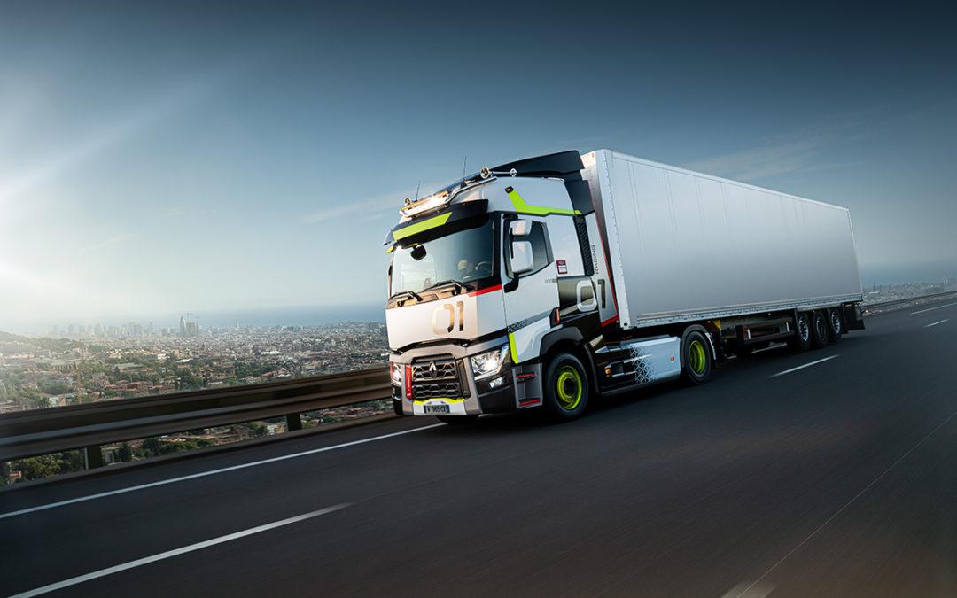 Renault Trucks T 01 racing, de eerste speciale used truck-editon