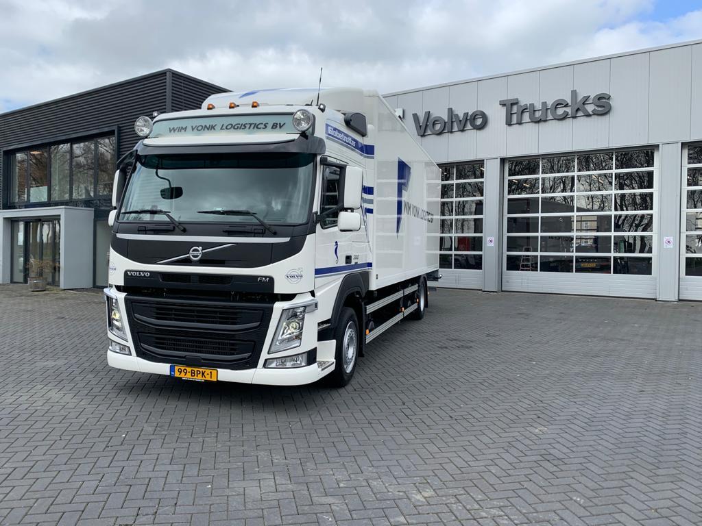 Volvo FM Aflevering Wim Vonk Logistics