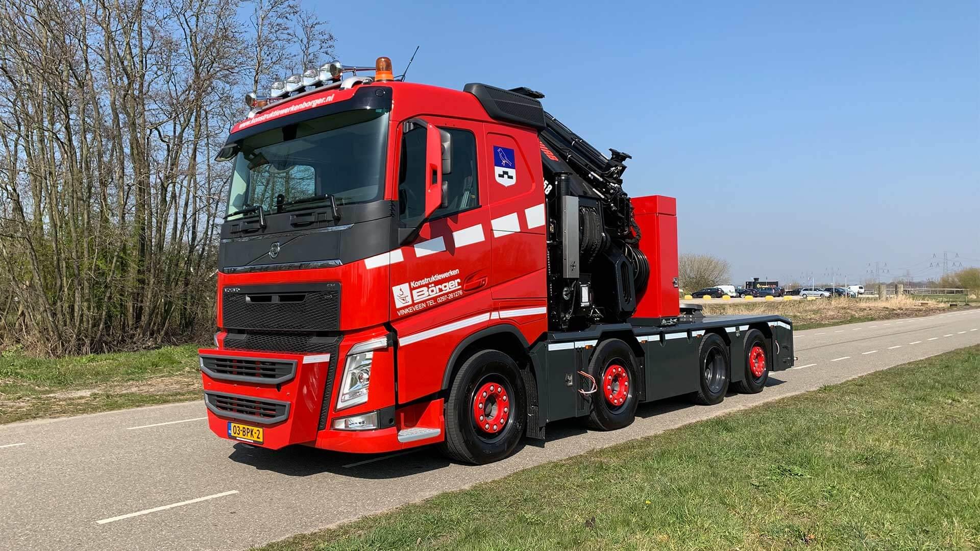 Borger Volvo FH Aflevering