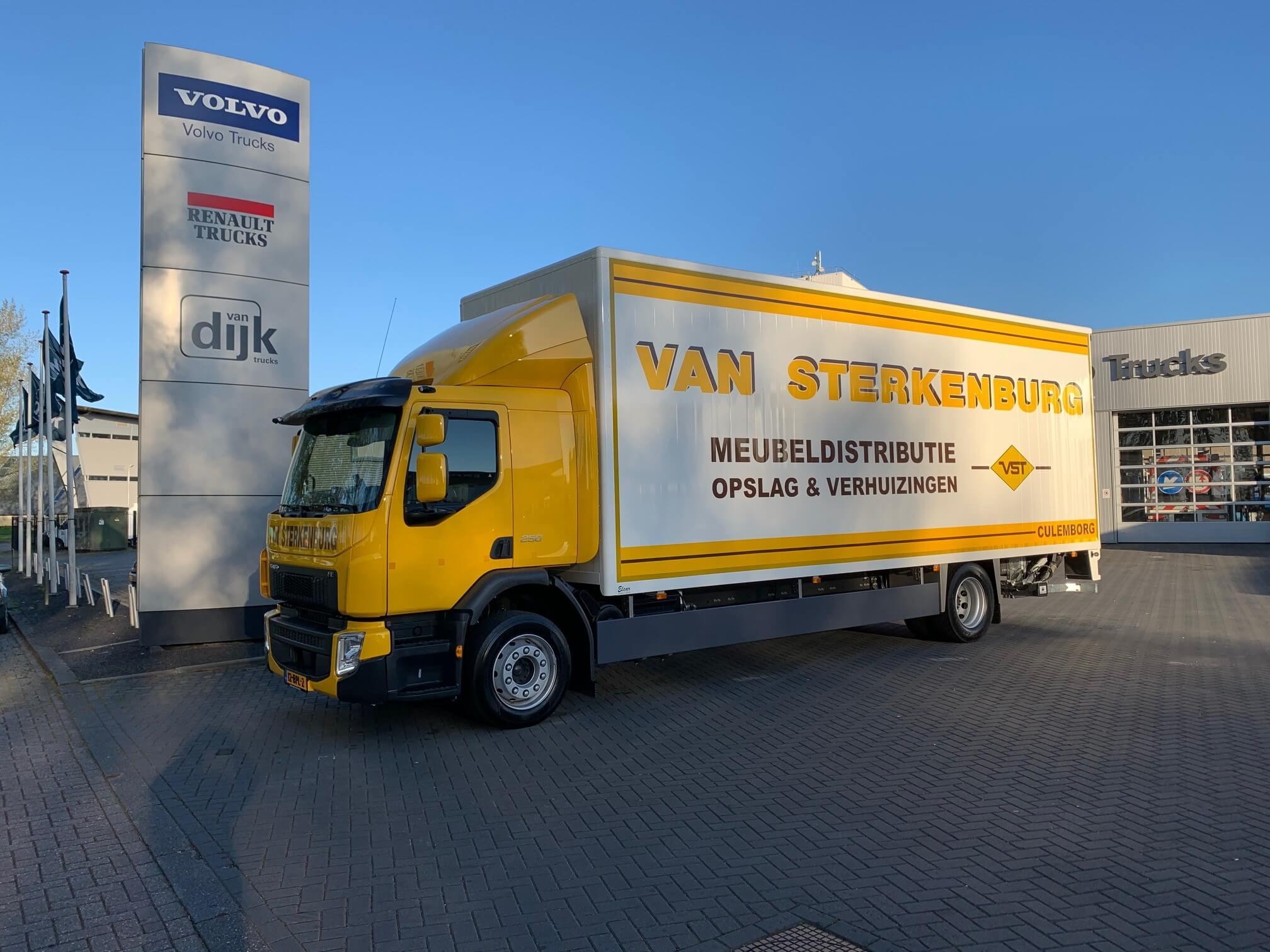 Volvo FE Sterkenburg Aflevering Culemborg