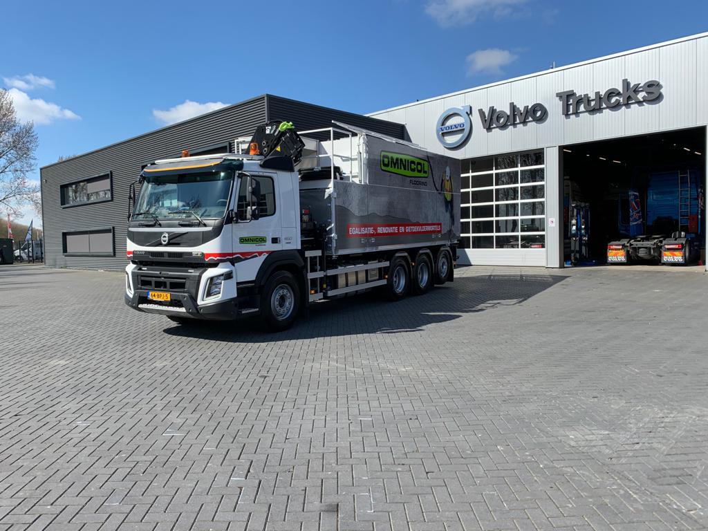 Omnicol Flooring BV VolvoFMX
