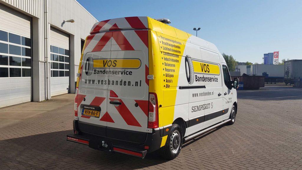vVosbanden Renault Master bedrijfswagens