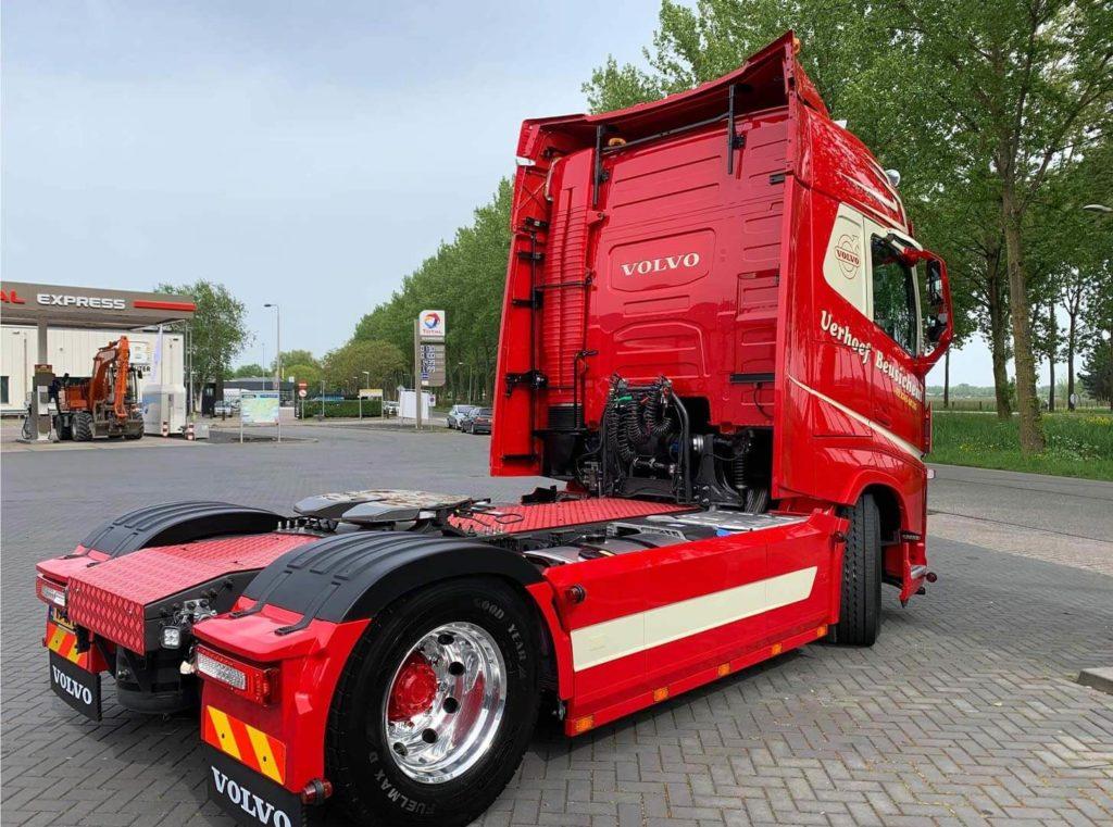 Verhoef Transport Volvo FH Van Dijk Trucks aflevering