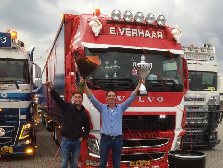 E. Verhaar valt in de prijzen op Truckstar!