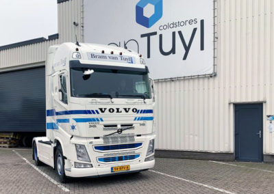 Bram van Tuyl & Zn, internationaal koel- en vriestransport B.V., Gameren