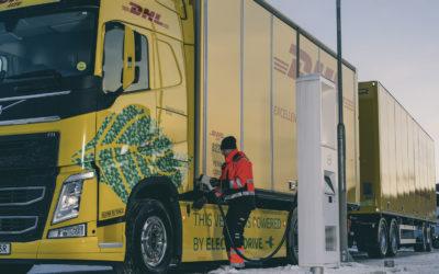 DHL Freight en Volvo Trucks bundelen hun krachten voor fossielvrij transport over langere afstanden