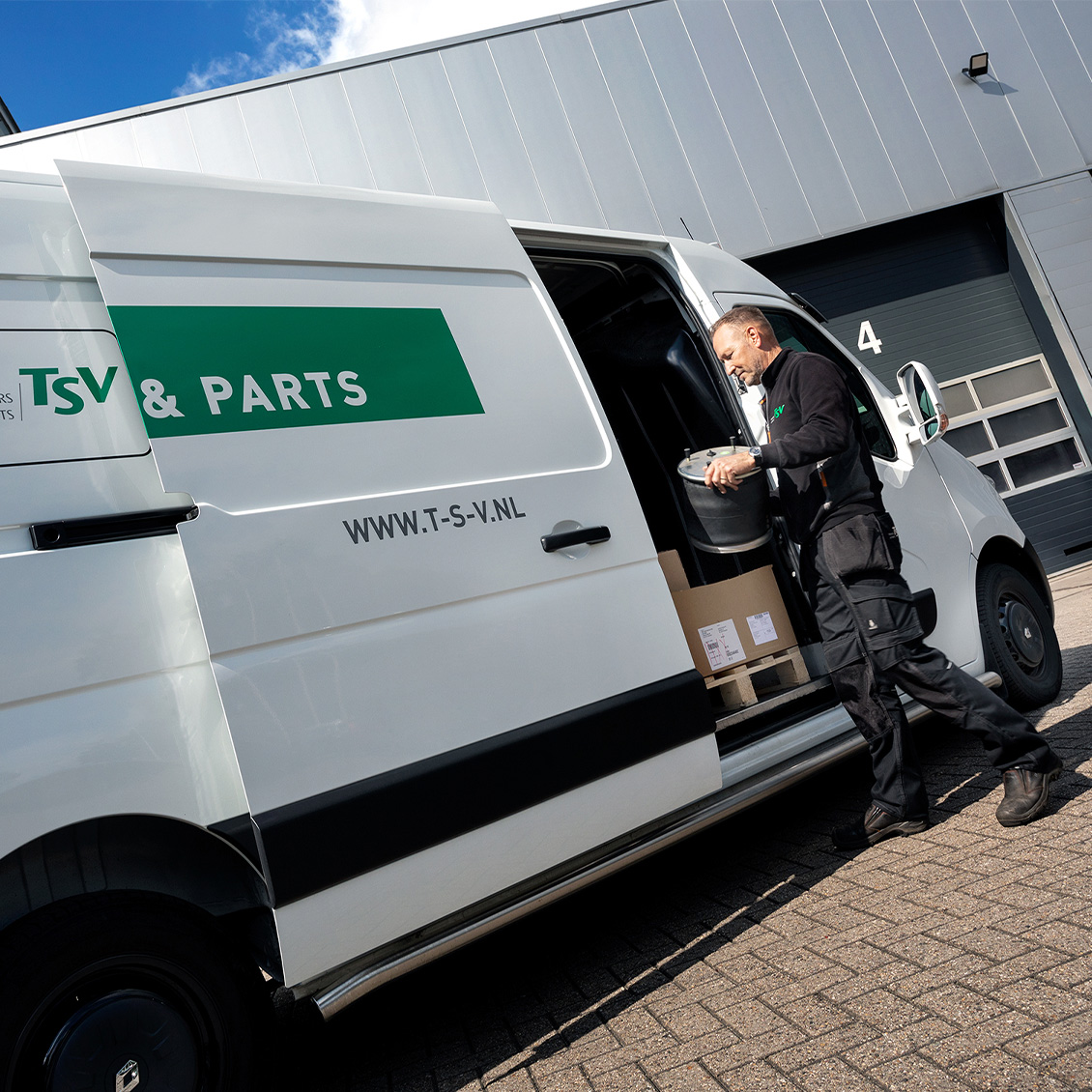 TSV service onderdelen 24/7