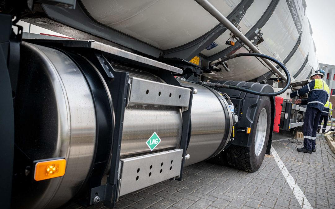 Maximaal laadvermogen voor Schenk Tanktransport met Volvo LNG