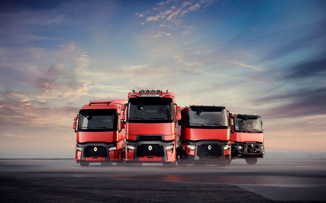 De nieuwe Renault trucks T, T High, C & K zijn comfortabeler, betrouwbaarder en efficiënter