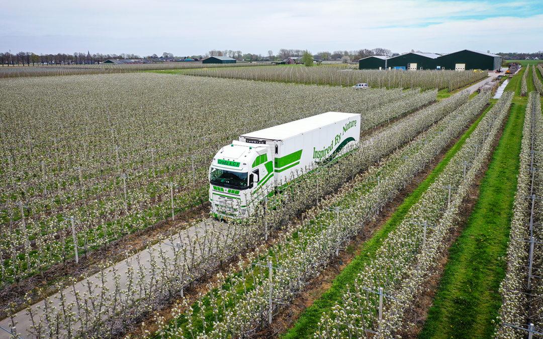 Van Dijk Trucks levert nieuwe Volvo FH aan Groda A.G.F. B.V.