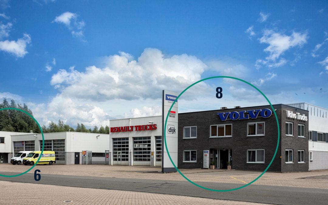 Verbouwing Van Dijk Trucks Utrecht