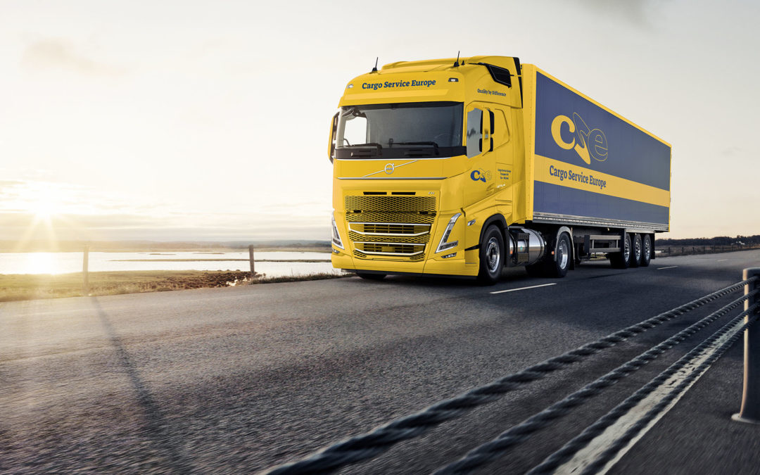 60 Volvo LNG-trucks voor Cargo Service Europe (CSE)