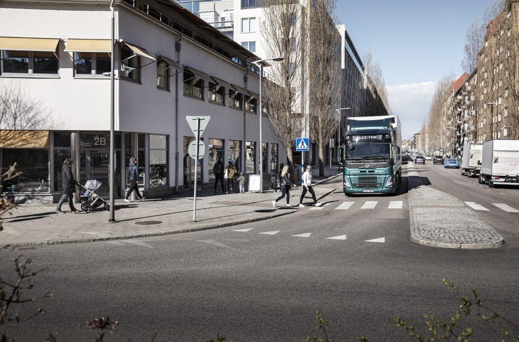 Volvo Trucks voegt unieke geluiden toe aan zijn elektrische trucks voor meer veiligheid
