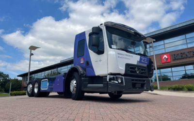 Onthulling nieuwe volledige elektrische truck voor in de stad: de lage-instap cabine D WIDE Z.E. LEC