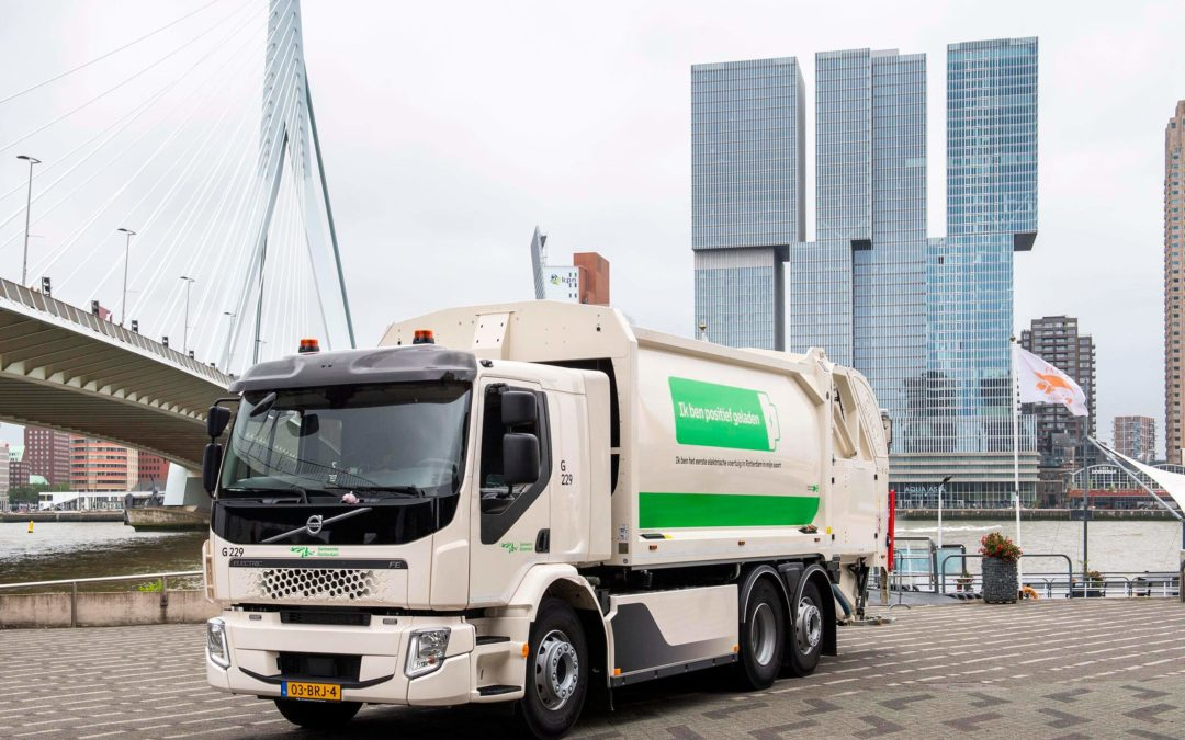 Volvo FE Electric voor Gemeente Rotterdam