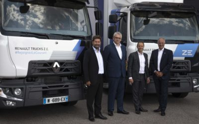 Urby investeert in stedelijke mobiliteit en koopt 20 elektrische Renault Trucks D Z.E.
